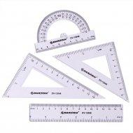 Набор геометрический «Darvish» 4 предмета.