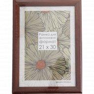 Рамка деревянная со стеклом Д25К, 10х30 см.