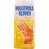 Перчатки резиновые «Household gloves» размер L.