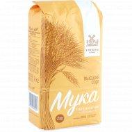 Мука пшеничная «Хлебны млын» высший сорт, 2 кг.