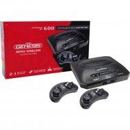 Игровая приставка «Retro Genesis» Remix Wireless 8+16 Bit, 600 игр