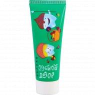 Детская зубная паста «32 Жемчужины» зубной дозор, яблоко, 75 мл.