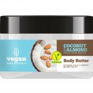 Масло крем для тела «Vegan» coconut & almond cream, 250 мл