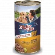Консервы «Miglior» для собак, с курицей и индейкой, 1.25 кг.