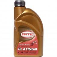 Масло моторное «Sintec» platinum sae, 5W-40, 1 л.