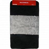 Набор ковриков для ванной комнаты «Black» SILE2513, 2 шт.