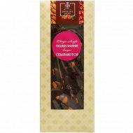 Шоколад темный «Hand-Made» 48.5%, с клюквой и миндалем, 100 г.