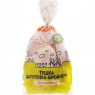 Тушка цыпленка-бройлера «Асобiна» охлажденная, 1 кг., фасовка 1.1-1.4 кг