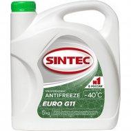 Антифриз «Sintec» 40 G11, euro, 4,3 л.