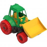 Трактор с грейдером.