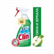 Средство для мытья окон и зеркал «Clin» Яблоко, 500 мл.