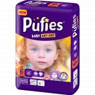 Подгузники для детей «Pufies» Baby Art&Dry ХL 42 (13+ кг).