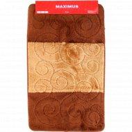 Набор ковриков для ванной комнаты «Brown» 2 шт.