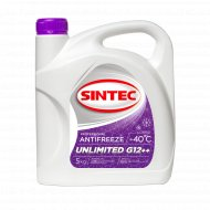 Антифриз «Sintec» 40 G12, unlimited, plus plus, 4.3 л.