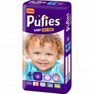 Подгузники для детей «Pufies» Baby Art&Dry Maxi+, 9-16 кг, 50.
