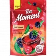 Чай черный «Tea Moment» черная смородина, ежевика и клюква, 20х1.2 г.