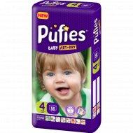 Подгузники для детей «Pufies» Baby Art&Dry Maxi, 7-14 кг, 56.