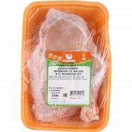 Задняя четвертина цыпленка-бройлера «Асобiна» замороженная 1 кг., фасовка 0.55-1.2 кг