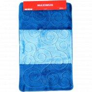 Набор ковриков для ванной комнаты «D. Blue» 2 шт.