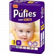 Подгузники для детей «Pufies» Baby Art&Dry Midi, 4-9 кг, 66.