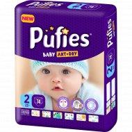 Подгузники для детей «Pufies» Baby Art&Dry Mini, 3-6 кг, 74.