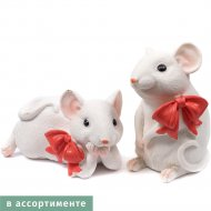 Копилка полирезиновая «Belbohemia» мышь, 10х8х7 см