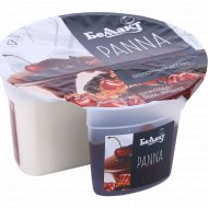 Десерт молочный «Panna Cotta» со вкусом шоколад-ром-вишня, 8%, 150 г.
