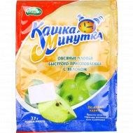 Хлопья овсяные «Кашка Минутка» с яблоком, 37 г.