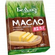 Масло сладкосливочное «Беллакт» несоленое 82,5%, 180 г.