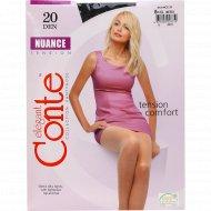 Колготки женские «Conte» Nuance, 20 den, размер 5, nero