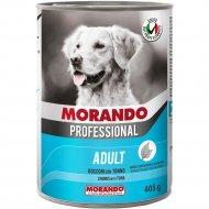 Консерва «Morando» для собак, кусочки с мясом и рыбой, 405 г.