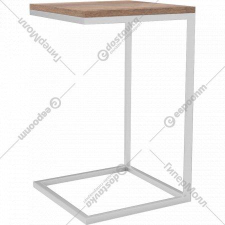 Стол «Hypemebel» Лайт, металл белый, небраска