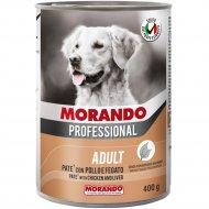 Консервы «Morando» для собак, паштет с домашней птицей, 400 г.