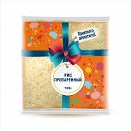 Рис «Пропаренный» шлифованный, дробленный, 700 г.