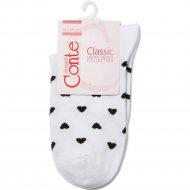 Носки женские хлопковые «Ce «Classic»» белые, размер 25.
