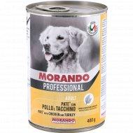 Консервы «Morando» для собак, с курицей и индейкой, 400 г.