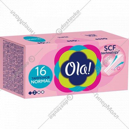Тампоны женские «Ola!» Normal, 16 шт.