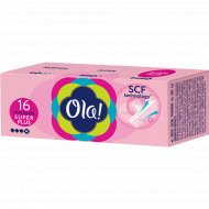 Тампоны женские «Ola!» Super plus, 16 шт.