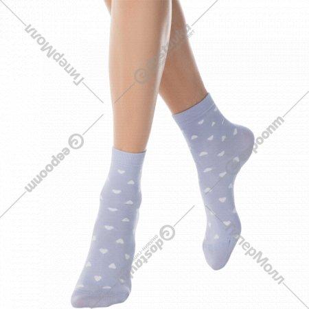 Носки женские хлопковые «Ce «Classic»» бледно-фиолетовые, размер 25.