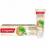 Зубная паста «Colgate» укрепление эмали, 75 мл.