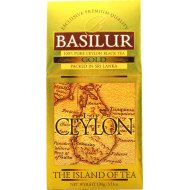 Чай черный «Basilur» цейлонский листовой, 100 г.
