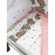 Комплект постельного белья «Баю-Бай» Слоники, К50-С1
