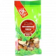 Смесь орехов и сухофруктов «Premium ОК» 100 г.