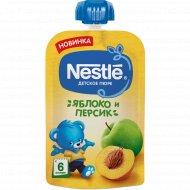 Пюре «Nestle» яблоко и персик, 90 г.