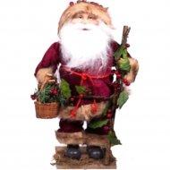 Изделие для новогодних праздников «Санта Клаус с лукошком» G91124/18.