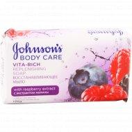 Мыло «Johnson's vita rich» лесные ягоды, 125 г.
