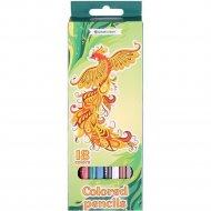 Карандаши цветные «Darvish» жар-птица, 18 цветов.