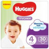 Трусики-подгузники «Huggies» 9-14 кг, размер 4, 30 шт
