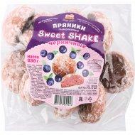 Пряники «Sweet Shake» черничные, 330 г