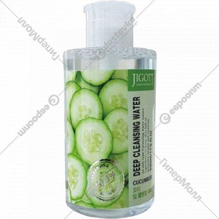 Лосьон «Jigott» Deep Cleansing Water Cucumber 530мл